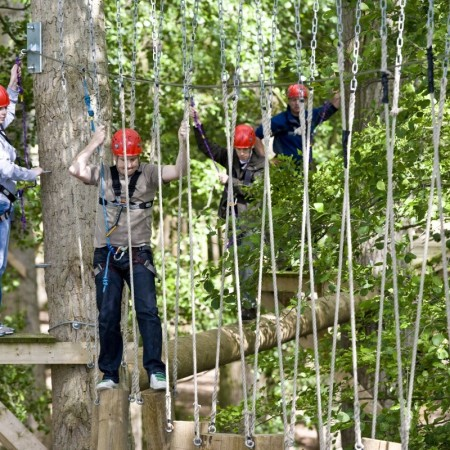 High Ropes Course Malpas, Cheshire
