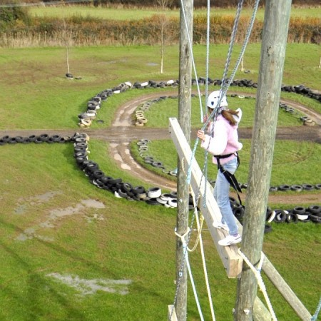 High Ropes Course Porthcawl, Mid Glamorgan
